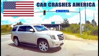 CAR CRASHES IN AMERICA #7 | BAD DRIVERS USA | NORTH AMERICAN DRIVING FAILS