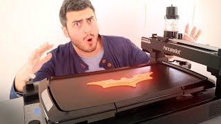 IMPRESSORA 3D DE PANQUECAS !!! SIM, ISSO EXISTE ! - Video Youtube