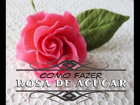 Rosa de Pasta ou Biscuir