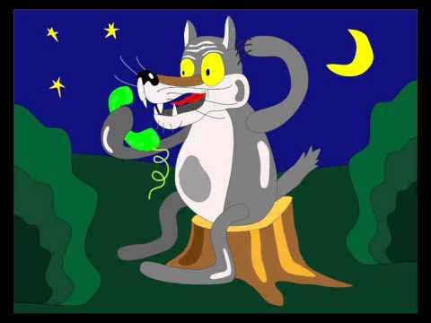 "Ringtone ""Алё"" / Звонок для телефона от волка."