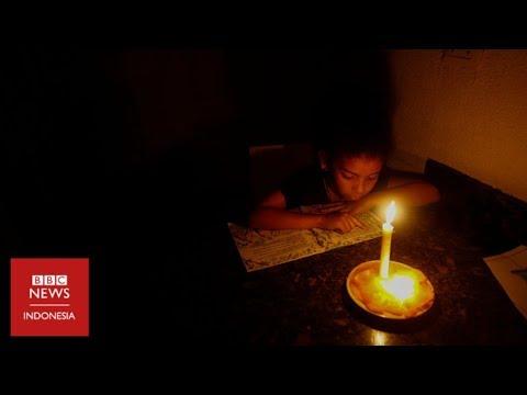 Krisis Venezuela: Listrik padam, rumah sakit lumpuh, nyawa pasien 'di tangan Tuhan'