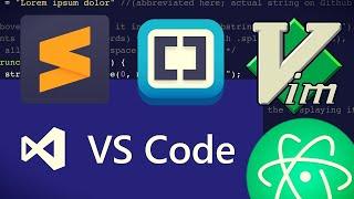 Best code editor for newbies in 2020? || VS Code vs Atom vs Vim vs Sublime vs Brackets vs PhpStorm