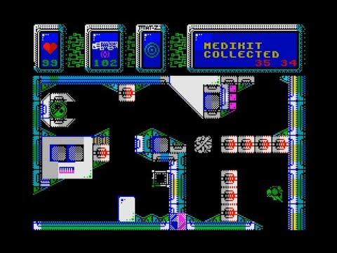 The Swarm is Coming,,, Walkthrough, ZX Spectrum