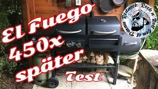 450x Grillen später, El fuego Sierra Jamestown Kombi grill Smoker Gasgrill Kohlegrill Test und Fazit