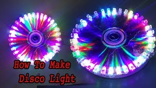 how to make disco light With Dvd
