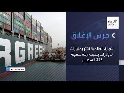 العرب اليوم - شاهد: التجارة العالمية تتأثر بمليارات الدولارات