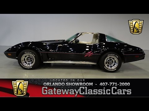 Video of 1979 Chevrolet Corvette Offered by Gateway Classic Cars - Orlando - KDLV