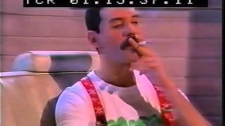 QUEEN - FREDDIE MERCURY - interview DAVID WIGG munich 1985 RARE !!!