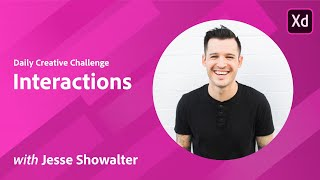 Adobe XD Daily Creative Challenge - Interactions