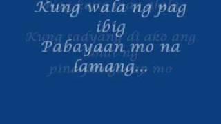 Keep On Loving You (tagalog Version) By Renz Verano (w/lyrics)