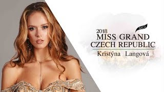 Kristyna Langova Miss Grand Czech Republic 2018 Introduction Video