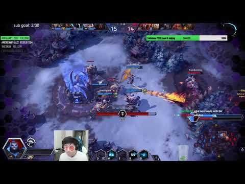 Thrall Sunder - Trying to 1 shot ppl with follow through - Grandmaster Storm League Game