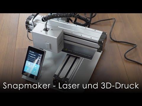 Snapmaker - Lasergravur und 3D-Druck in einem | haus-automatisierung.com [4K]
