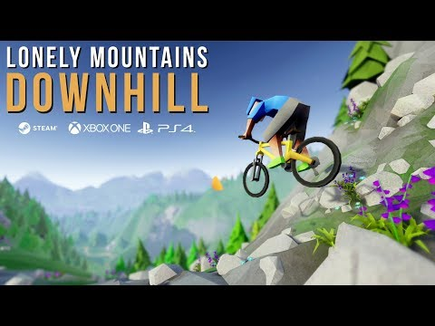 Lonely Mountains: Downhill - Release Trailer thumbnail