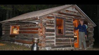 Martin's Old Off Grid Log Cabin #152-I'M BACK- IT'S SHOWTIME