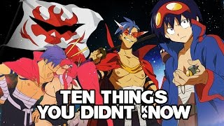 10 Things You Didnt Know About Tengen Toppa Gurren Lagann