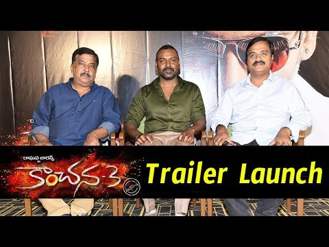 Kanchana 3 Movie Trailer Launch Event