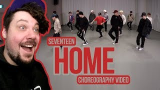 Mikey Reacts To 'SEVENTEEN(세븐틴)   Home' Choreography Video