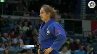 Judo Grand-Prix Düsseldorf 2013: Andreea CHITU (ROU) - Majlinda KELMENDI (KOS) Final [-52kg]