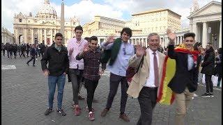 Desde España a Roma en autobús, para ver al Papa