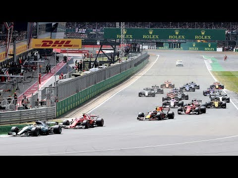 2017 British Grand Prix | Race Highlights