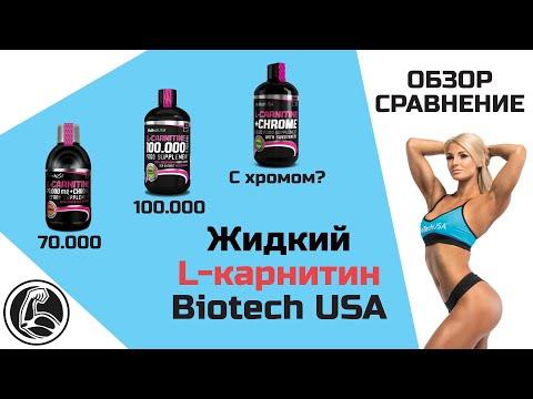 Обзор и сравнение BiotechUSA Carnitine Liquid (Жидкий L-карнитин)