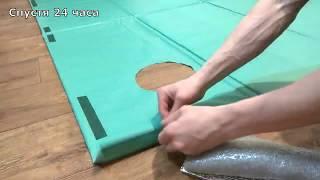 Изготовление пола в зимнюю палатку