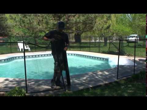 Pool fence install 2013  Babyguard Montreal