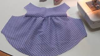 How To Make A Dog Balloon Blouse Sewing Movie 03 [hand Made Dog Clothes]