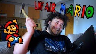Πως να σπάσεις το PC σου ! (Unfair Mario #2) | Manos