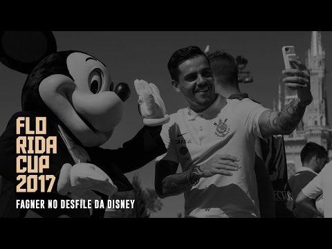 Fagner no Desfile da Disney | Florida Cup 2017