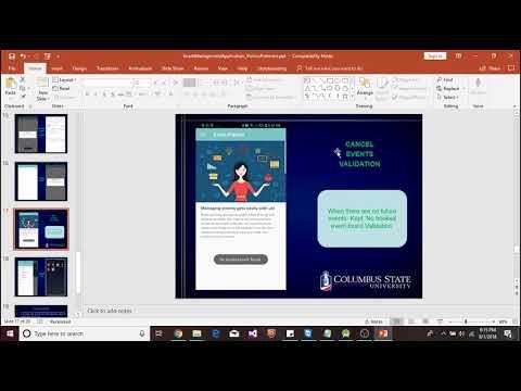 Online Event Management Mobile Application- Event Planner