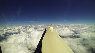 Lancair Turboprop   Texas to Arkansas   17,500ft