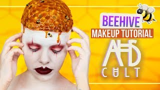 AHS: CULT - BEEHIVE Makeup Tutorial (deutsch) #spooktober