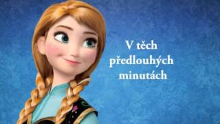 Ledové království - Ráda sněhuláky stavíš/text