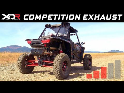 2018-19 Polaris RZR RS1, XP/XP4 1000 - XDR Off-Road Competition Exhaust System 7524