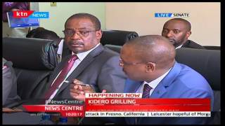 Nairobi County Governor Evans Kidero is facing difficult questions before investigative committee
