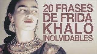 20 Frases De Frida Kahlo Que Son Inolvidables 👩🏽