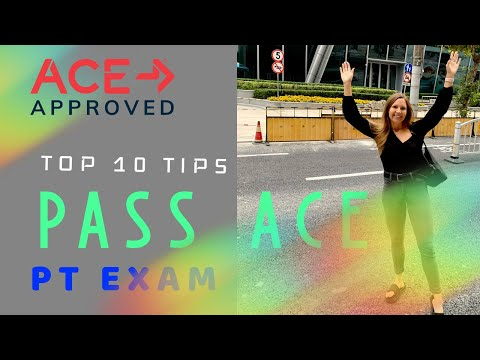 Top 10 Tips to Pass the ACE Personal Trainer Exam the First Time... For Real!