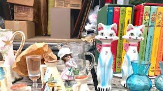 Flea Market Finds! A Good Day Treasure Hunting