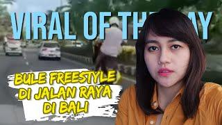 VIRAL HARI INI: Video Bule 'Freestyle' saat Berkendara di Bali, Polisi Tindak Tegas