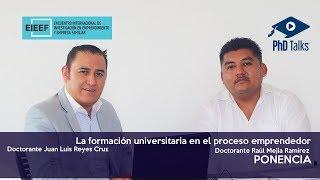 La formación universitaria en el proceso emprendedor