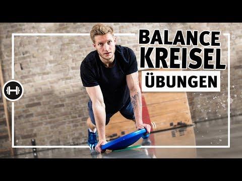 Gleichgewichtsübungen mit Balance-Kreisel | Übungen & Workouts | Sport-Thieme