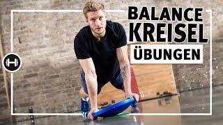 Gleichgewichtsübungen mit Balance-Kreisel   Koordination & Beweglichkeit   Sport-Thieme
