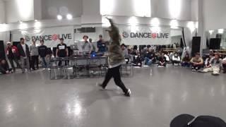 SHUHO (HOUSE OF NINJA / TOKYO FOOTWORKZ)  JUDGE DEMO / DANCE@LIVE 2017 RIZE KANTO CLIMAX