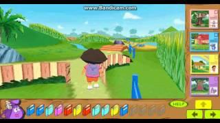 Dora The Explorer 3D Backpack Adventure Gameplay