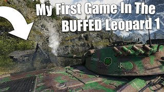 WoT || My First Game In The BUFFED Leopard 1 || Ehm... WTF Was That Shot?!