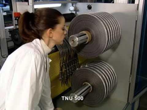 TNU500-Máquinas para corte longitudinal por ultrasonido de cintas y etiquetas tejidas