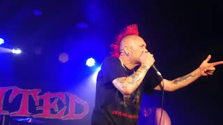 The Exploited   Was it me  Live at Manchester Club Academy 24 May 2018