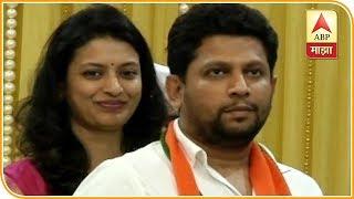 Mumbai   Mr And Mrs Sujay Vikhe Patil Speak To ABP Majha